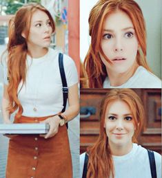 """My favorite Arabic interpreter told me today that I am """"identical"""" to this Turkish actress/model.  Elçin Sangu?!  Best compliment (: <3"""