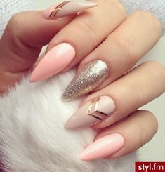 Ideas nails design stiletto gel for 2019 Blue Nail Designs, Simple Nail Designs, Art Designs, Design Art, Design Ideas, Kat Von D, Stiletto Nails, Gel Nails, Nail Nail