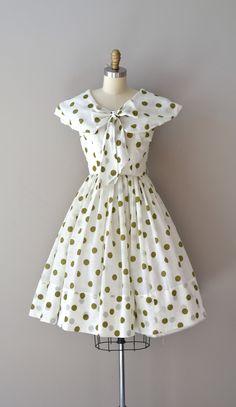 66d35ab534e3 polka dot 50s dress   vintage 1950s dress   Humdinger dress