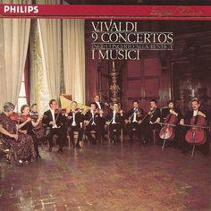 Vivaldi: 9 Concertos, I Musici. Philips 411-035-2