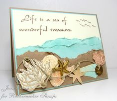 TLC386 Life is a Sea of Wonderful Treasures by joan ervin - Cards and Paper Crafts at Splitcoaststampers