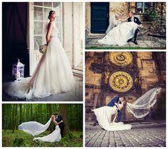 Naše krásne nevesty v našich šatách zo salónov Myjava a Trenčín…tešíme sa na vašu návštevu:)