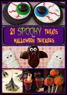 21 Spooky Treats for