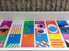 Herman Miller brochures designed by George Nelson.