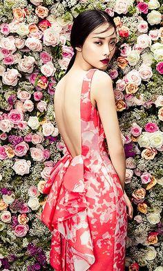Open Back Wool Silk Couture Dress - URBAN CLUB Designer Fashion Boutique
