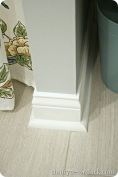 Thick baseboards wou
