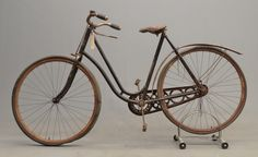 1899 Crescent Pneumatic Safety Bicycle for auction. Bicycles, Sweden, Safety, Auction, Bike, Retro, Wood, Unicycle, Accessories