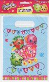 Official Shopkins Party Loot Bags pack of 8