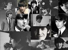 George Harrison Through The Years collage (Source- http://crymccartneycry.tumblr.com/post/59751278870/tis-mr-harrison-through-the-years)