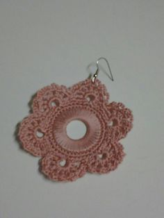 eleonora betulla Crochet Projects, Crochet Earrings, Handmade Jewelry, Outfits, Lace Earrings, Crocheting, Needlepoint, Hipster Stuff, Suits