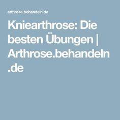 Kniearthrose: Die besten Übungen | Arthrose.behandeln.de