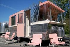 Vintage 1960s Holiday House Trailer