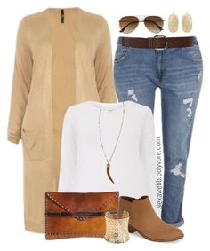 """Plus Size - Casual Neutrals"" by alexawebb ❤ liked on Polyvore featuring Laggo, Sam Edelman, Torrid, H&M, Marlyn Schiff, Kendra Scott, outfit, plussize, plussizefashion and alexawebb"