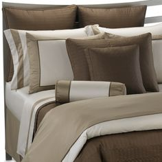 Colorblock Neutral Duvet Cover by Ampersand™, 100% Cotton - Bed Bath & Beyond - very basic / neutral
