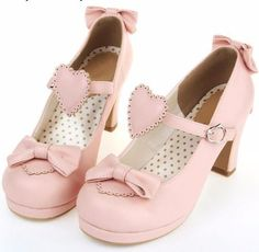 87cb107bdb7a Sweet Heart Lolita Heels. A kawaii collection of the cutest and most kawaii  shoes ...