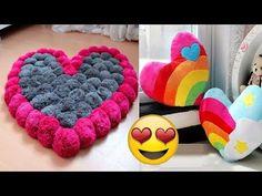 DIY Pom Pom Rug | Using My Hands - YouTube