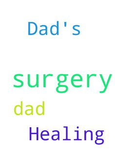 Dad's surgery and Healing Please! - My Dad is having surgery Posted at: https://prayerrequest.com/t/vBp #pray #prayer #request #prayerrequest