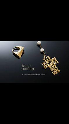 The Best of Summer. We only Design #ATrueJewel #MauricioSerrano #Mexico #2015 #Plata #Passion #Summer #Jewelry #Joyeria #Design #Art Shop www.mauricioserrano.com