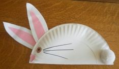 Wai Lien's Corner (D20102045302): Easy Paper Plate Bunny Crafts