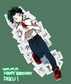 Boku no Heor Academia || Midoriya Izuku (Happy Birthday)