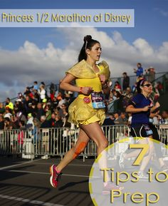 7 Tips for prepping for the Princess 1/2 Marathon at Disney