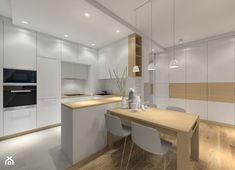Projekt białej kuchni. - zdjęcie od MKdezere