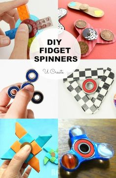 DIY Fidget Spinners