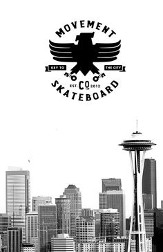 Movement Skateboards logo by Ricky Lester, via Behance
