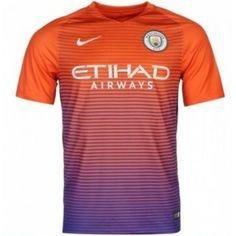 Fodboldtrøjer Premier League Manchester City 2016-17 3. Trøje