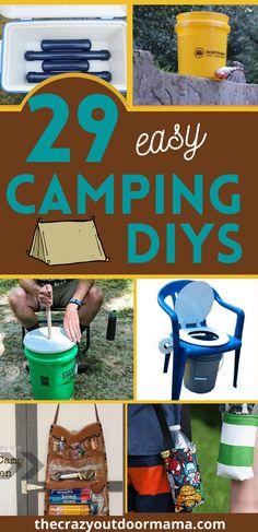 Camping Survival, Camping And Hiking, Camping With Kids, Tent Camping, Camping Ideas, Survival Tips, Camping Toilet Tent, Kids Camp, Camping Stuff