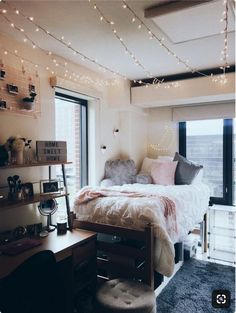 Beautiful Dorm Room Decorting Ideas 01 is part of Dorm room inspiration - Dorm Room Themes, Cool Dorm Rooms, Dorm Room Designs, College Dorm Rooms, Bedroom Designs, Dorm Design, Design Design, Best College Dorms, Pink Dorm Rooms
