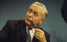 Harold Wilson with Pipe. Baron Wilson of Rievaulx, KG, OBE – Labour politician and twice Prime Minister of the United Kingdom (from 1964 to 1970 and again from 1974 to Made In Dagenham, Harold Wilson, Man Smoking, Pipe Smoking, British Prime Ministers, Labour Party, John Smith, Blink Of An Eye, Great Women