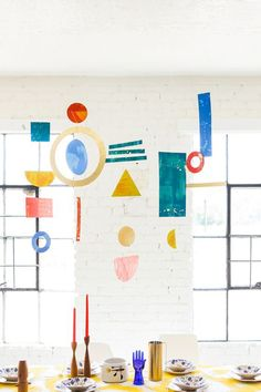11 Artsy Mobiles We Would Totally Hang in Our Homes via Brit + Co
