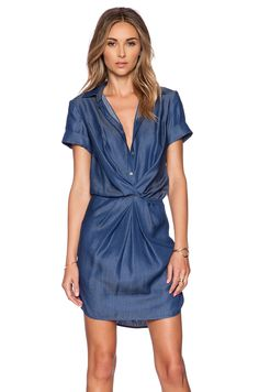 Bailey 44 Low Rider Dress in Chambray in A & S | REVOLVE