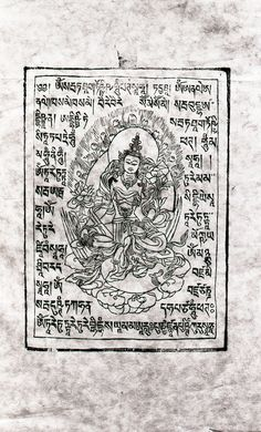 Old woodblock prints Tibetan Art, Tibetan Buddhism, Buddhist Tattoos, Vajrayana Buddhism, White Umbrella, Thangka Painting, Buddha Art, Prayer Flags, Hanuman