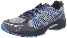 awesome ASICS Men's GEL-Venture 4 Running Shoe,Charcoal/Carbon/Blue,10.5 4E US