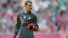 It was a quiet afternoon for Manuel Neuer in the FCB goal, but he'll be kept busier in Tuesday's Champions League meeting with AS Roma. Description from dfb.de. I searched for this on bing.com/images