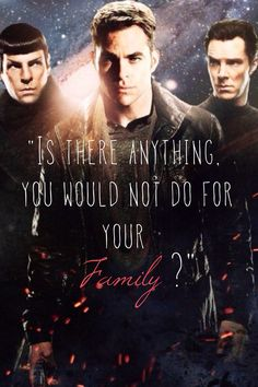 I lived this picture and i loved this quote from Khan and i could help myself but make an edit!!! Star trek and chris pine