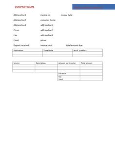 word invoice template   free invoice template online   pinterest, Invoice templates