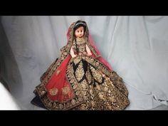 Lehanga Packing idea in just 3 mins Indian Wedding Favors, Desi Wedding Decor, Barbie India, Lengha Blouse Designs, Wedding Lehanga, Creative Wedding Gifts, Trousseau Packing, Drape Sarees, Barbie Bridal