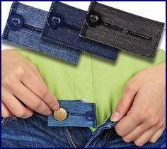 Текстильные фантазии и не только: Если вы поправились, а в джинсы влезть нужно!