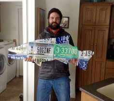 Commissioned license plate trout. Montana veteran plate, two cut-throat trout plates.