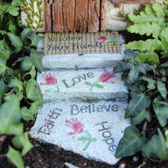 Welcome Fairy Path Walkway: Fairy Garden Landscaping Miniature
