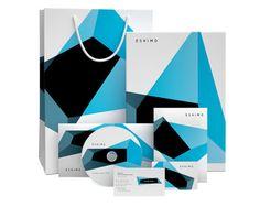 Eskimo visual identity  #packaging