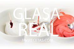 Glasa Real (Royal Icing) para Decorar Galletas Royal Icing Receta, Royal Icing Cookies, Cupcake Cookies, Cupcakes, Easy Cookie Recipes, Dessert Recipes, Desserts, Cooking Chef, Cooking Recipes