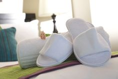 We want you to feel right at home as soon as your enter one of our rooms. The best way to be greeted is with some fluffy slippers on your bed. To book any of our rooms click here: http://bit.ly/IY9YJ0