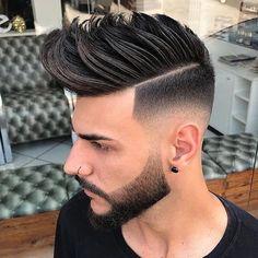 capelli tagli uomo con ciuffo 2018