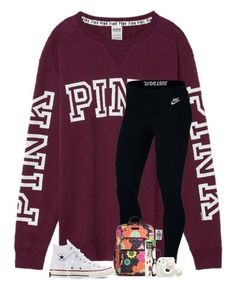 Cute Outfits With Leggings, Cute Lazy Outfits, Komplette Outfits, Sporty Outfits, Teen Fashion Outfits, Athletic Outfits, Look Fashion, Stylish Outfits, Tween Fashion