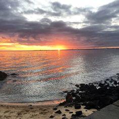 Brighton Melbourne, Celestial, Sunset, Outdoor, Outdoors, Sunsets, Outdoor Games, The Great Outdoors, The Sunset