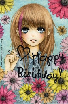 Happy Birthday Sister Anime anime happy birthday cards the art mad wallpapers